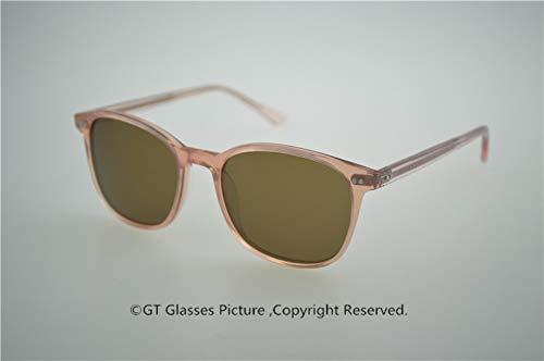 LKVNHP Hohe Qualität Männer Frauen Vintage Sonnenbrille Acetat Schmetterling Polarisierte Sonnenbrille Oculos Marke Gafas De SolRosaVs Braun