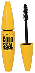 Maybelline The Colossal 100% Black Mascara, Black, 10,7 ml