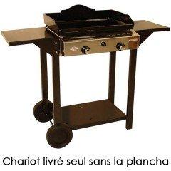 Forge adour 935.600 - Forge Adour 935-600 - chariot pour plancha Prestige 600 - acier