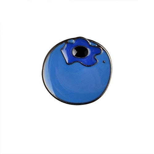 Obeysas - Weihnachten Avocado AFFE Peach Blueberry Metall-Revers-Stifte Harter Emaille Pin Netter Abzeichen Modeschmuck [Style ()