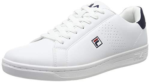 Fila Herren Crosscourt 2 F Low 1010276-98F Sneaker, Weiß (White, 45 EU