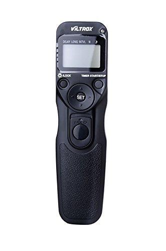VILTROX MC-C1 Timer Lapse Intervalometer Timer-Fernbedienung-Auslöser für Canon Rebel T5i T4i T3 T3i T2i T1i 60D 1200D 600D 550D 500D 450D 70D MEHRWEG (T3i Für Rebel Fernbedienung)
