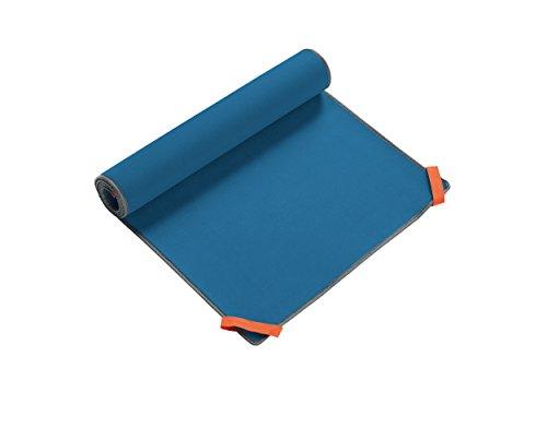 Tehe Moe Tapis De Plage Gris Bleu 160 X 60 Cm