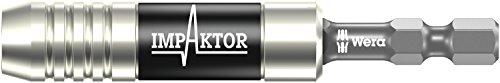 897/4 IMP Impaktor Halter mit Sprengring und Magnet, 1/4 Zoll x 75 mm, Wera 05057675001