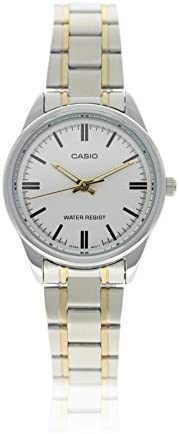 Casio Women's Analog Dial Stainless Steel Band Watch - LTP-V005SG-7