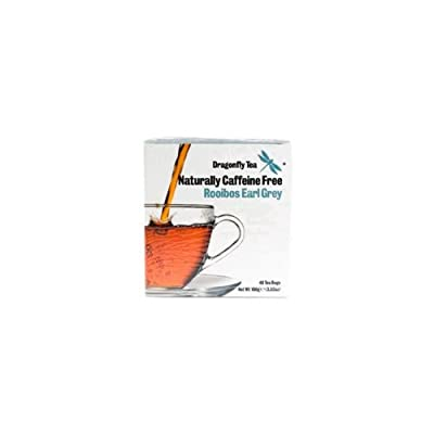 Dragonfly - Sachets rooibos Earl Grey - 40 sachets X4