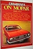 """Car & Driver"" on Mopar, 1968-75"
