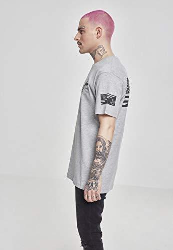 MERCHCODE Herren Linkin Park Flag T-Shirt, Heather Grey, 3XL