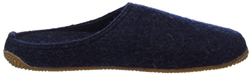 Chaussons Nachtblau Mules Blau Living Salve Fußbett adulte Mit mixte Hohe Walkpantoffel Kitzbühel qSYq7P
