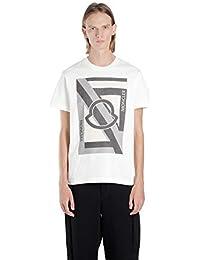 MONCLER GENIUS Hombre 8000450809CS050 Blanco Algodon T-Shirt