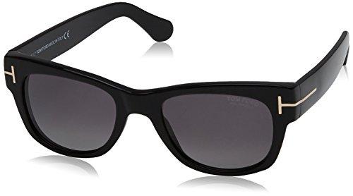 cc845e1121 Tom Ford FT0058 01D 52 Montures de lunettes, Noir (Nero Lucido/Fumo Polar