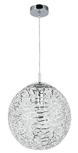 Decke Kugel (RABALUX Pendelleuchte, Metall, E27, Silber)