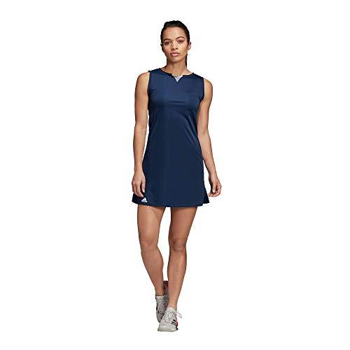 adidas Damen Club Tenniskleid Collegiate Navy, L