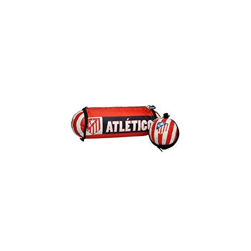 Portatodo Atletico Madrid balon plegable
