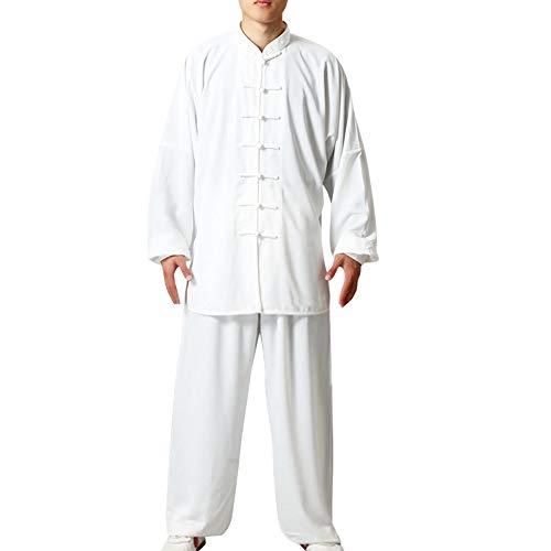 Daytwork Uniformen Kampfsport Baumwolle Chinoiserie - Bekleidung Unisex Erwachsener Trainingsbekleidung Sets Traditionell Tai Chi Männer Kostüme Shaolin Kung Fu Frauen