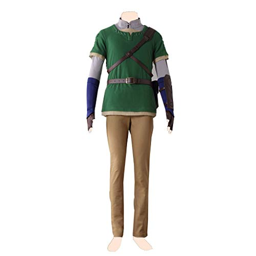 Dream2Reality The Legend of Zelda_ Twilight Princess Cosplay Kostuem Link Ver.4 Medium