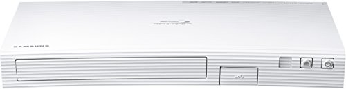 Samsung BD-J5500E 3D Blu-ray Player (Curved Design, HDMI, USB) weiß