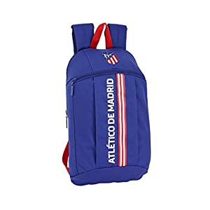 Safta – Atlético de Madrid «In Blue» Oficial Mini Mochila Uso Diario 220x100x390mm