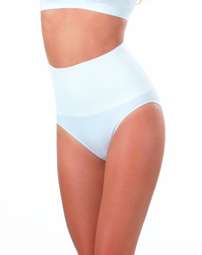 Figur Body Damen Slip 2 er Pack Taillenslip, s/w Mehrfarbig (schwarz/weiß)