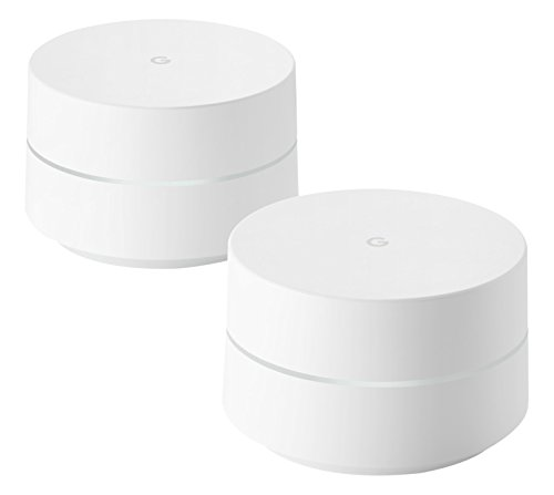 Google Wi-Fi, 4GB eMMC Flash Storage, 512MB RAM, Twin Pack - UK...