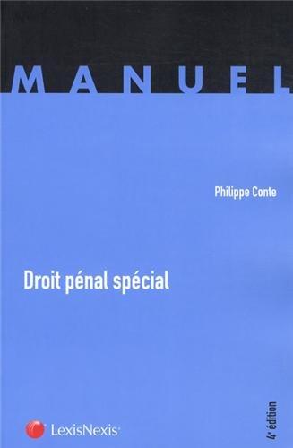 Droit Penal Special par Philippe Conte