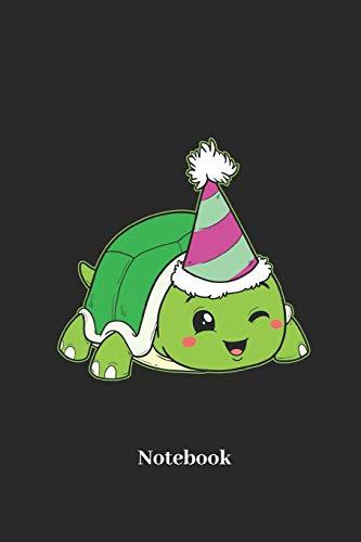 Notizbuch für Schildkröten, Reptilien und Geburtstags Fans - Notizheft Klatte für Männer, Frauen und Kinder ()