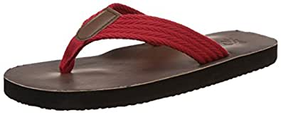 United Colors of Benetton Men's Red (901) Hawaii House Slippers (10 UK/India) (44.5 EU) (16P8SLPC9034I)