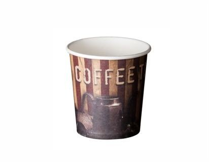 Vasos de Carton Cafe , te, infusiones - Paquete 100 unidades (190 cc)