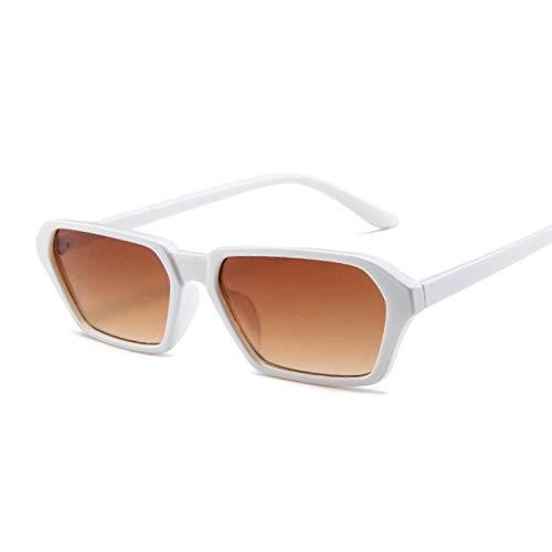 2THTHT2 Marke Square Sonnenbrille Frauen Retro 90S Cat Eye Sonnenbrille Mit Kleinem Rahmen Damen Classic Temperament Sonnenbrille