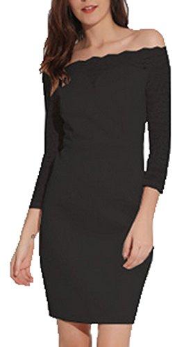 ZEARO Partykleider Damen Spitzenkleid Abendkleider Cocktailkleider ...