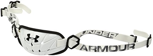 Under Armour Gameday Armour® Chin Strap, one Size, weiß