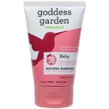 Goddess Garden Organic Sunscreen - Baby Natural Spf 30 Lotion - 3.4 Oz