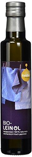 Fandler Bio-Leinöl, 1er Pack (1 x 250 ml)