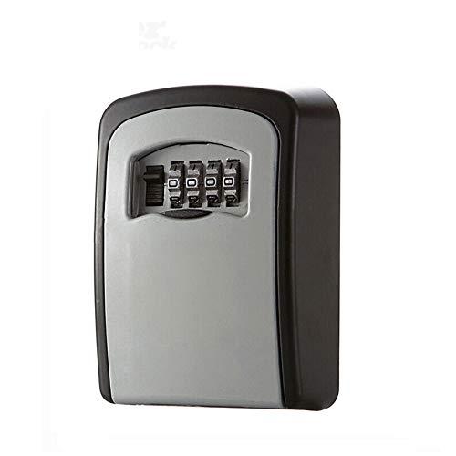 Schlüssel Aufbewahrung Security Lock, v-resourcing Wand montiert Outdoor Schlüssel Safe Lock Box mit 4stellige Kombination Secure Schrank, zu teilen und Schlüssel für Zuhause, Büro, Garage etc. - Breite Körper-sicherheits-schrank