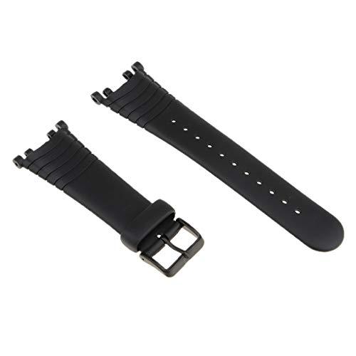 P Prettyia 1 Stück Armband Silikonarmbandbänder Uhrenarmbänder Für Suunto Vector Edelstahlschnalle