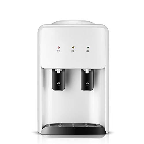 Mini Distributeur de Bureau d'eau Froide et Chaude d'eau de Bureau poussant Le commutateur Commode obtenant de l'eau de Chauffage à économie d'énergie Machinefor Home, 32 * 25 * 38Cm, Blanc
