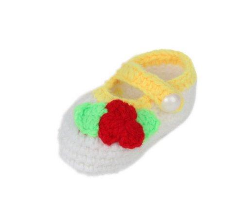 JTC Strickschuh One Size Baby Mit Süßen Muster Flaumweich Colour #18