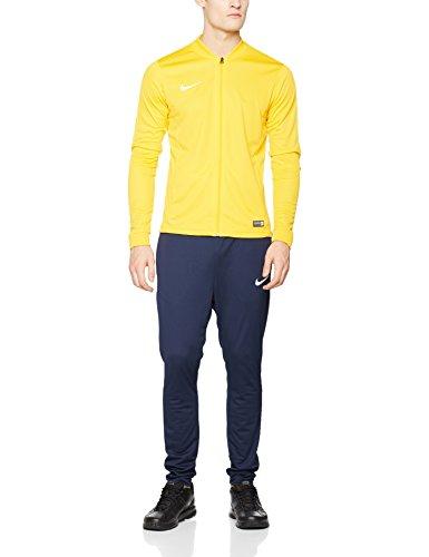 Nike-Academy16-Knt-Tracksuit-2-Tuta-e-pantaloni-sportivi-Uomo-Oro-University-GoldObsidianWhite-Taglia-S