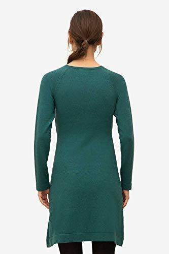 Milker Loma Stillkleid Umstandskleid aus Wolle-Viskose-Strick Jade - 3