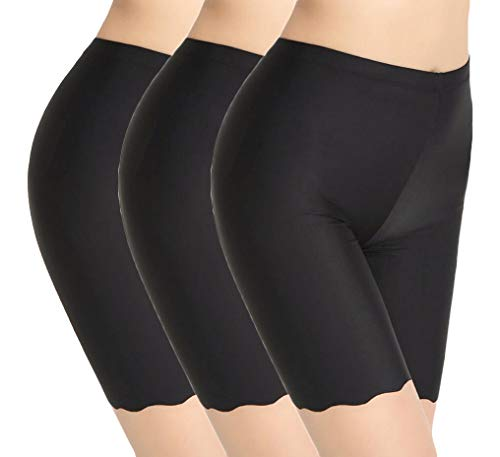 Used, TRISTIN Womens 3 Pack Boy Shorts Anti Chafing Underwear for sale  Delivered anywhere in UK