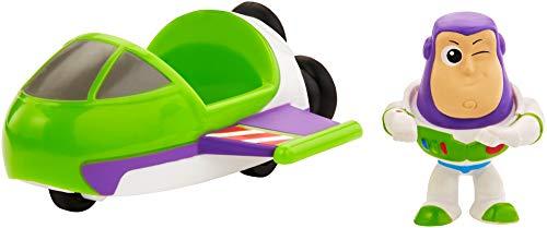Toy Story- Minis Disney Pixar Buzz Lightyear con Astronave, Mini Personaggio con Veicolo da Collezionare, per Bambini da 3+ Anni, GCY63