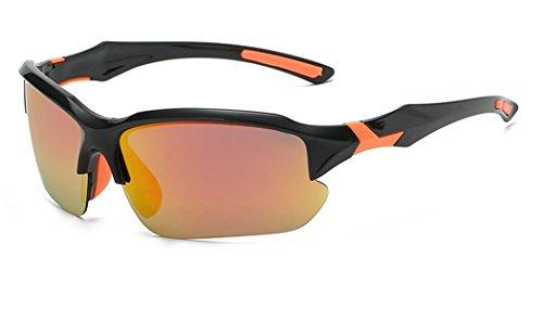 Dauco occhiali da sole polarizzati - occhiali polarizzati sportivi/sci/ciclismo - occhiali da corsa-uomo e donnadi