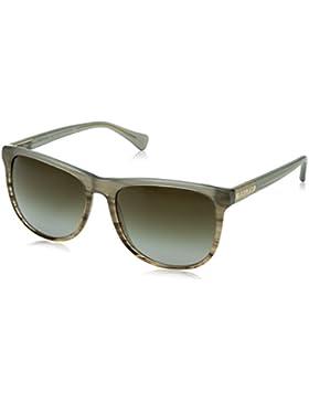 Ralph 0Ra5224, Gafas de Sol para Mujer, Olive Horn Gradient / Olive Hrn, 58