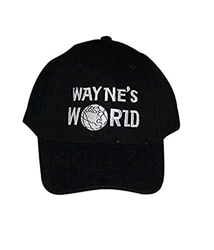 Embroidered Baseball Cap Hat Black Unisex Leisure Baseball Cap Hat