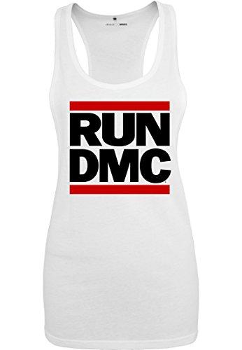 Urban Classics Femme Débardeur Run DMC weiss