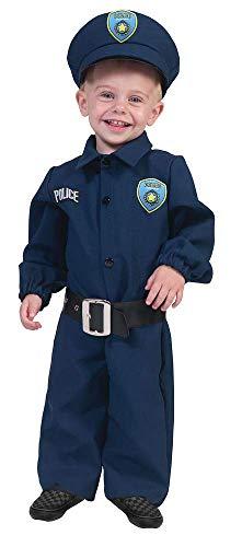 Policeman Polizist Baby Kostüm Gr. 86