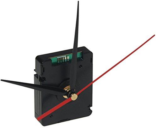 schleichendes Funk-Uhrwerk DCF mit 3 Zeigersätzen, Kunststoffgehäuse