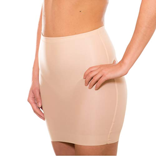 Magic Bodyfashion Damen Miederrock Lite Skirt Beige (Latte 300) 36 (Herstellergröße: Medium)