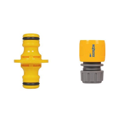 Price comparison product image Hozelock 2291 Double Male Connector & Hozelock Hose End Connector Set