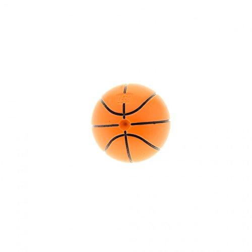 Bausteine gebraucht 1 x Lego System Ball Basketball orange mit Standard Linien schwarz für Set Sports 3827 3432 3433 3431 3428 4186831 43702pb02
